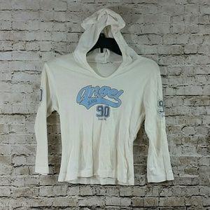 90s angel vintage hoodie top Angel jeans
